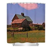 Quiet Too Quiet Shower Curtain