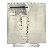 Quiet Water Shower Curtain