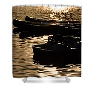 Quiet Waters At Sunset Shower Curtain