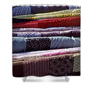 Quilts Shower Curtain