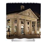 Quincy Market Boston Shower Curtain