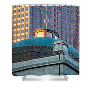 Quincy Market Dome Shower Curtain