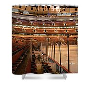 Quite Time Chicago United Center Before The Gates Open Vertical Shower Curtain