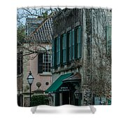 Quuen Street In Charleston Sc Shower Curtain