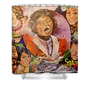 R B Legends Shower Curtain