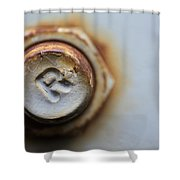 R Bolted Shower Curtain