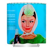 R C Cola Shower Curtain