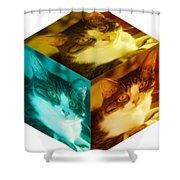 R U Square Shower Curtain