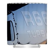 R66 Reflection Shower Curtain by Paul Job