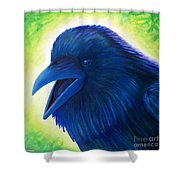Raaawk Shower Curtain