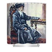 Rabbi Meisels Shower Curtain