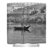 Rabelo Boat Shower Curtain