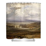 Raby Castle Shower Curtain