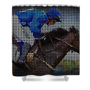 Race Hard - Race Fast Shower Curtain by Robert L Jackson