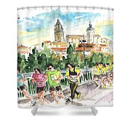 Race In Salamanca Shower Curtain