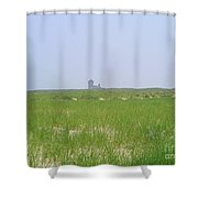 Race Point Life Saving Station Shower Curtain
