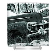 Race To The Grave Shower Curtain