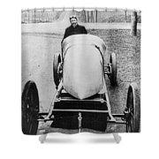 Racecar Driver, C1906 Shower Curtain