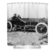 Racecar Drivers, C1913 Shower Curtain