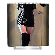 Racer Shower Curtain