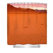Racetrack Valley Death Valley National Park Shower Curtain