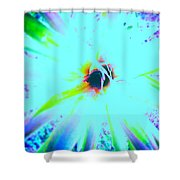 Radial Void Shower Curtain