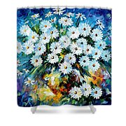 Radiance 2 - Palette Knife Oil Painting On Canvas By Leonid Afremov Shower Curtain