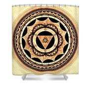 Radiant Affection Shower Curtain