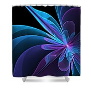 Radiant Beauty Shower Curtain