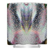 Radiant Seraphim Shower Curtain by Christopher Gaston