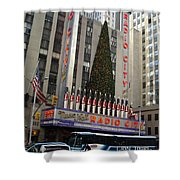 Radio City Music Hall 2003 Shower Curtain