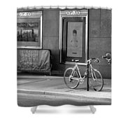 Radio City Music Hall In Black And White Shower Curtain