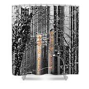 Radio City Music Hall Lights Shower Curtain