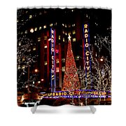 Radio City Music Hall Shower Curtain