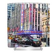 Radio City Music Hall New York City - 2 Shower Curtain