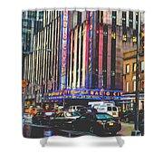 Radio City Music Hall New York City- 1 Shower Curtain