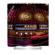 Radio City Shower Curtain