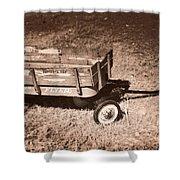 Radio Flyer Trav-ler Wagon Shower Curtain