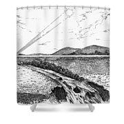 Radiophone, 1880 Shower Curtain