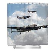 Raf Legends Shower Curtain