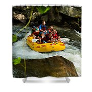 Rafting Bliss Shower Curtain