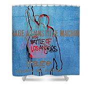 Rage Against The Machine Shower Curtain
