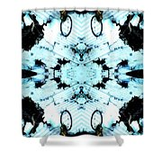 Raggedy Ring 2 Shower Curtain