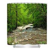 Raging Waters - West Virginia Backroad Shower Curtain