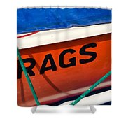 Rags Shower Curtain