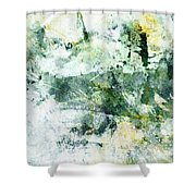 Ragtime Abstract  Art  Shower Curtain by Ann Powell