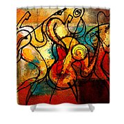 Ragtime Shower Curtain