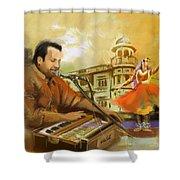 Rahat Fateh Ali Khan Shower Curtain