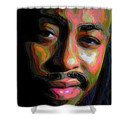 Raheem Devaughn Shower Curtain