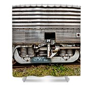 Rail Support Shower Curtain